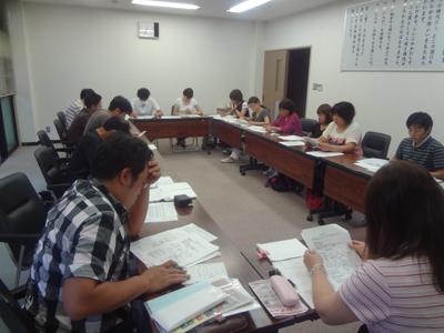 6/17職員研修を実施_a0154110_11411044.jpg
