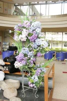 紫陽花とアンティークチェア_d0086634_13193061.jpg