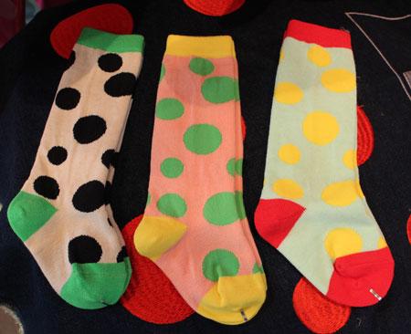 random dots socks入荷_a0262845_14233185.jpg