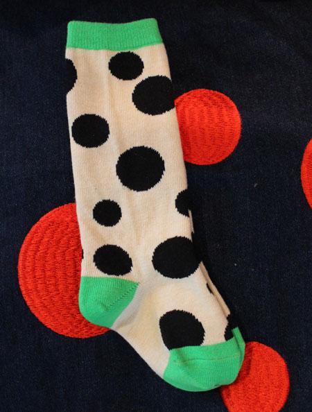 random dots socks入荷_a0262845_14242770.jpg