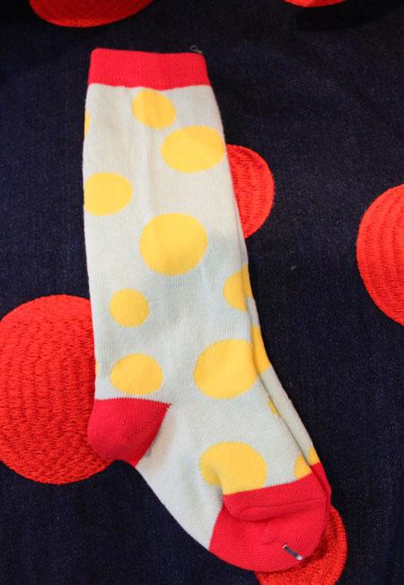 random dots socks入荷_a0262845_14251936.jpg