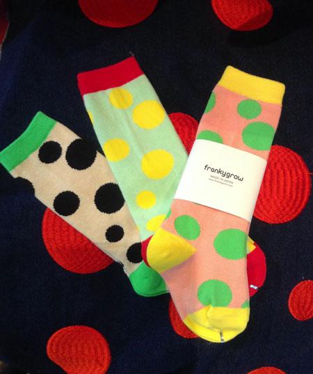 random dots socks入荷_a0262845_14255643.jpg