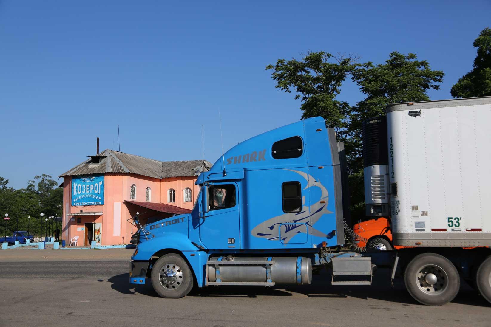 極東ロシアの田舎町をドライブする~数千台の日本車積替と渤海の港_b0235153_10295071.jpg