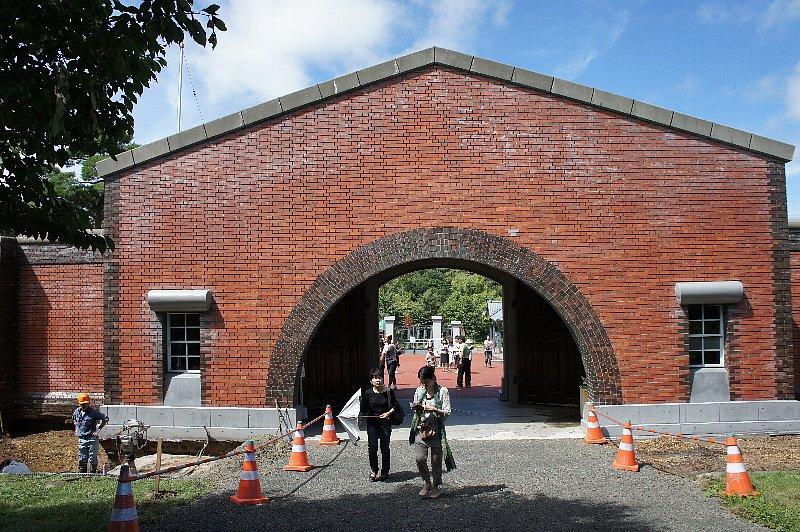 博物館網走監獄 正門と囲壁_c0112559_1371456.jpg