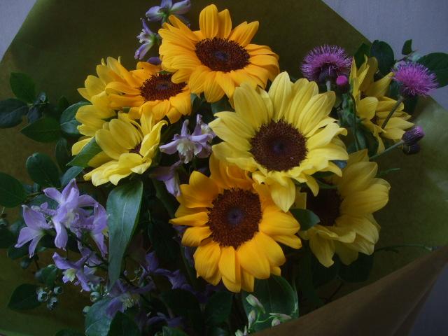 オークリーフ(父の日に贈る花)_f0049672_1234970.jpg