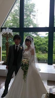 初・ブライダル☆_f0172281_10313836.jpg