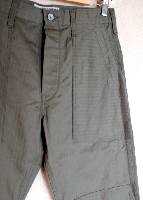 入荷案内 BAKER W-KNEE PANTS_e0254972_1585839.jpg