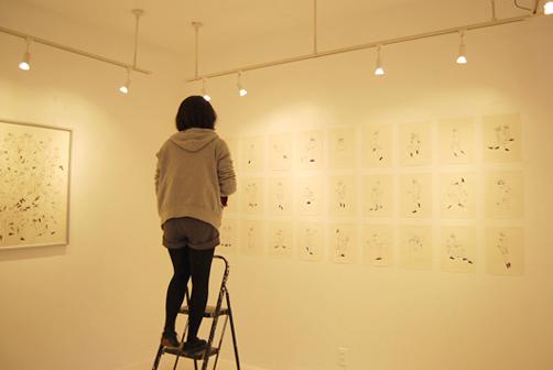 2月15日(金)〜20日(水)  個展前半「HOPE 抱いて フォーリン」写真_c0146191_20122589.jpg