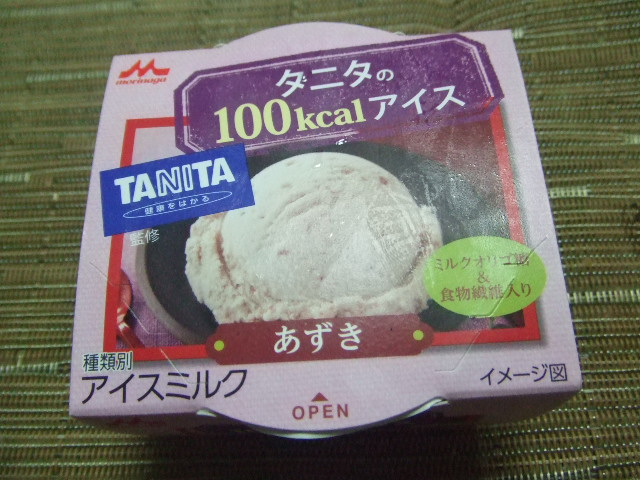 タニタの100kcalアイス あずき_f0076001_2365761.jpg