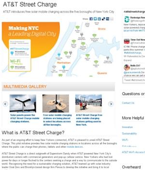 NYの街角に無料のソーラーパワー充電器が登場!!!_b0007805_11133683.jpg
