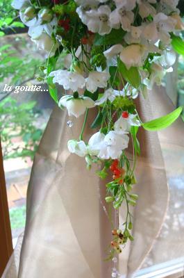 幸せの涙・・・☆しずく形のブーケ☆_c0098807_19533038.jpg