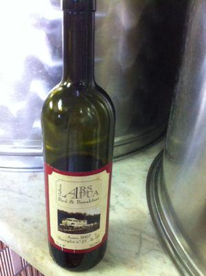 ラベンダーの朝とワインの夕べ_d0136540_4464895.jpg