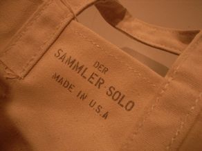 """Der SAMMLER solo × TheThreeRobbers COAL BAG S MAGIC POCKET\""ってこんなこと。_c0140560_12384067.jpg"