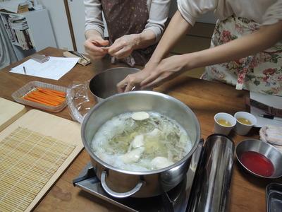 玄米クリームをレッスンしました_b0252363_15194325.jpg