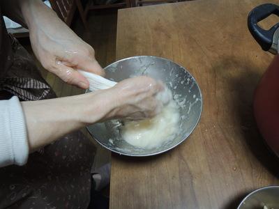 玄米クリームをレッスンしました_b0252363_1593148.jpg