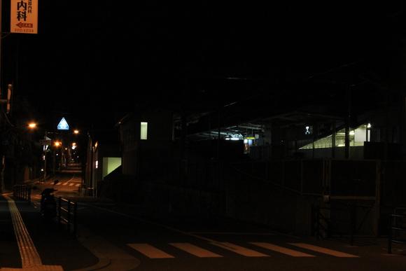 終電後の阪急箕面線_d0202264_2133317.jpg