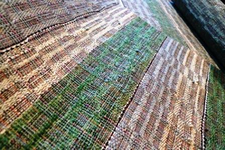 最近織り上がった八寸帯地。_f0177373_19472053.jpg