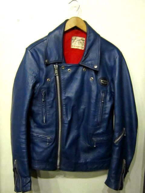 「 1970\'s LEWIS LEATHERS LIGHTNING 402 BLUE 」_c0078333_23374650.jpg