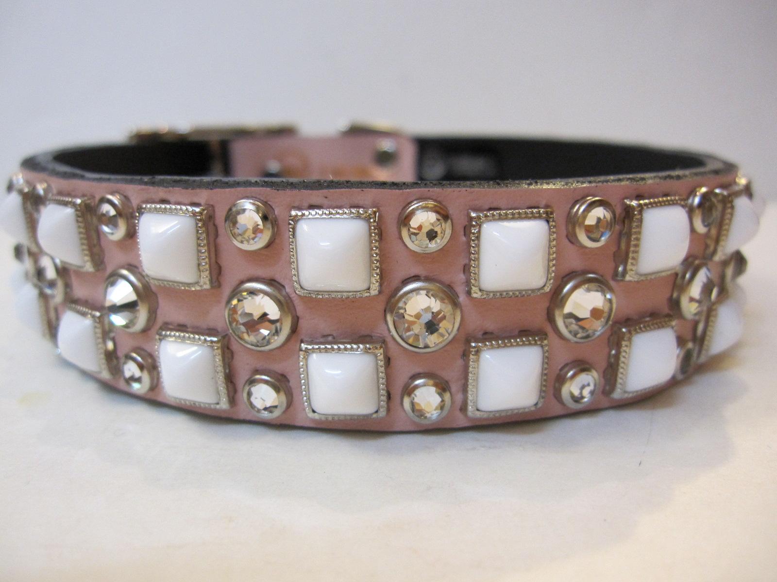 RN Design Laurel Collar Napa pink & Tribal Collar in White_c0151934_23335956.jpg