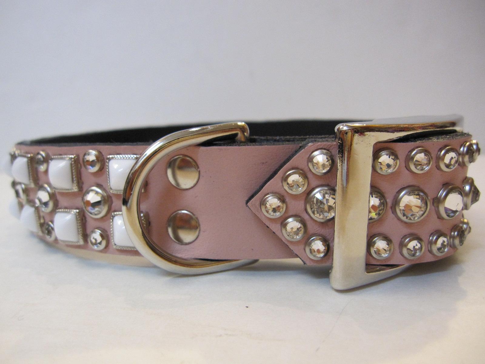 RN Design Laurel Collar Napa pink & Tribal Collar in White_c0151934_23341889.jpg