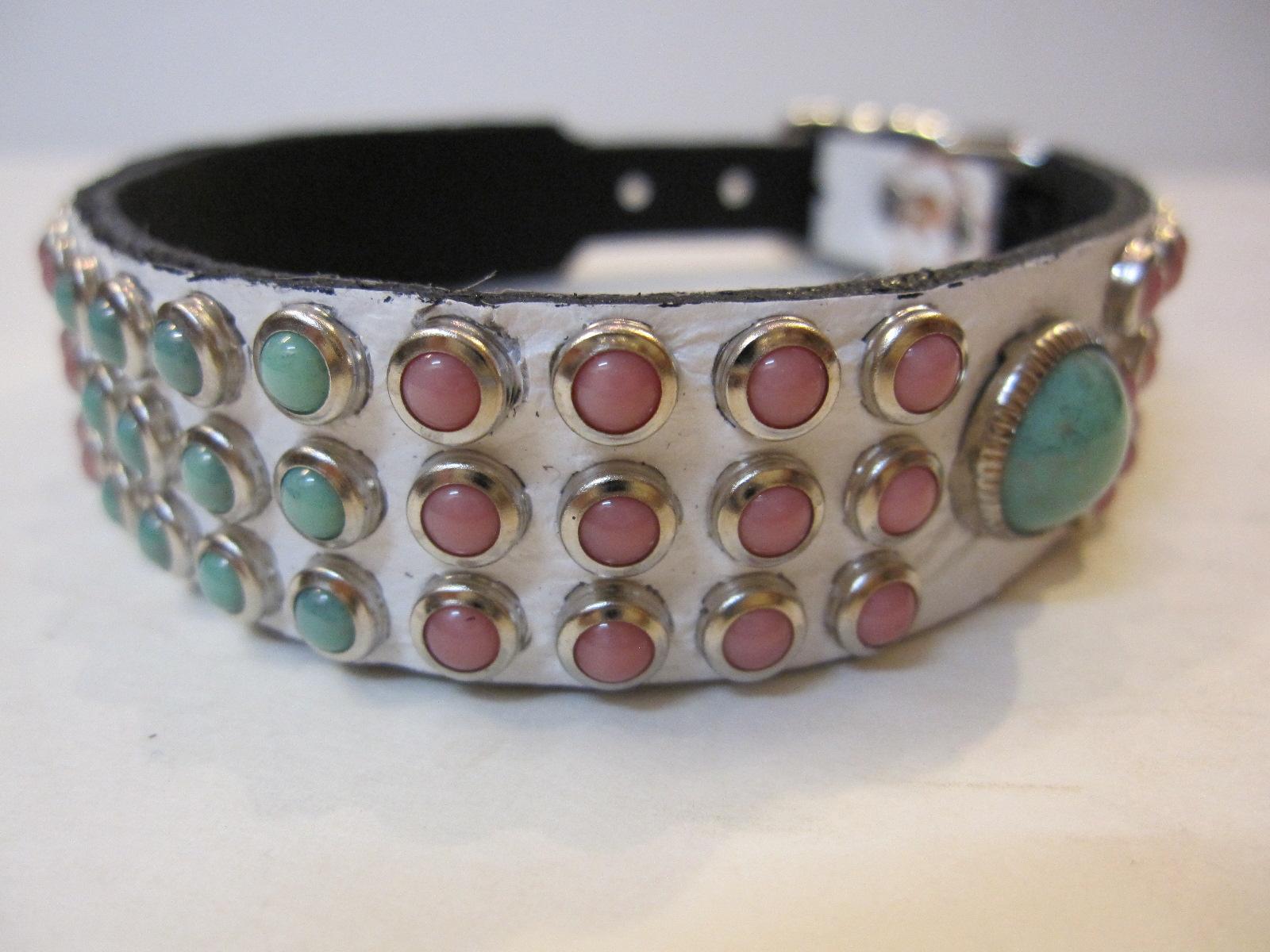 RN Design Laurel Collar Napa pink & Tribal Collar in White_c0151934_23404250.jpg