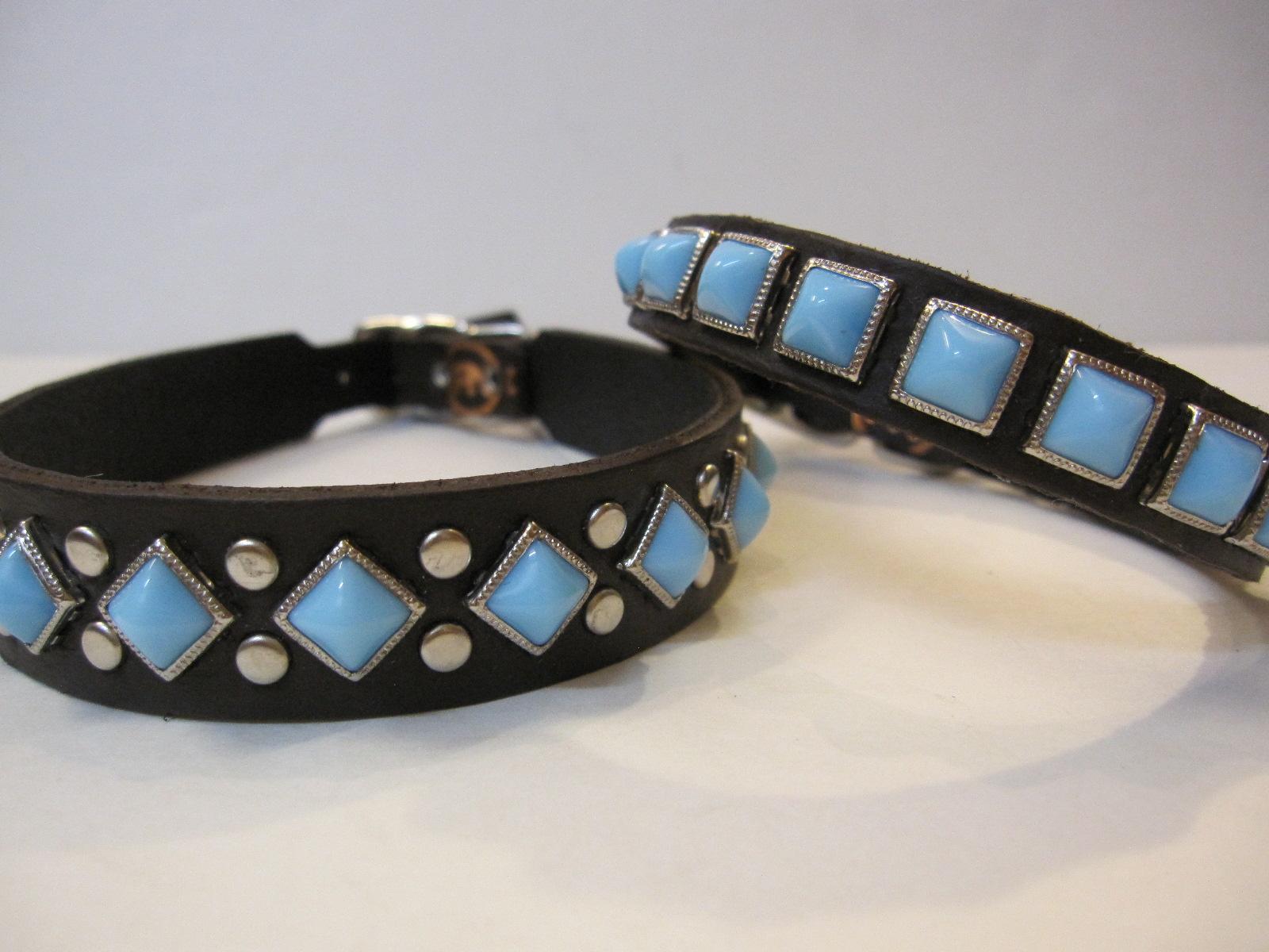 RN Design Laurel Collar Napa pink & Tribal Collar in White_c0151934_23451172.jpg