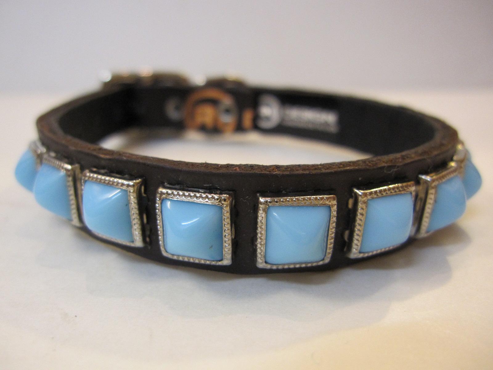 RN Design Laurel Collar Napa pink & Tribal Collar in White_c0151934_23453064.jpg