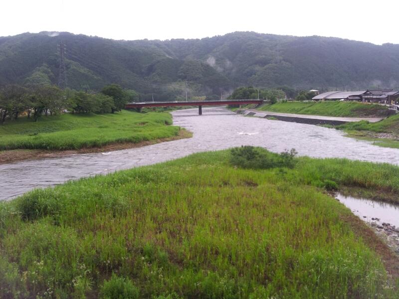 現在の水況。_c0266737_6275375.jpg