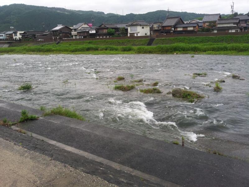 現在の水況。_c0266737_6283236.jpg