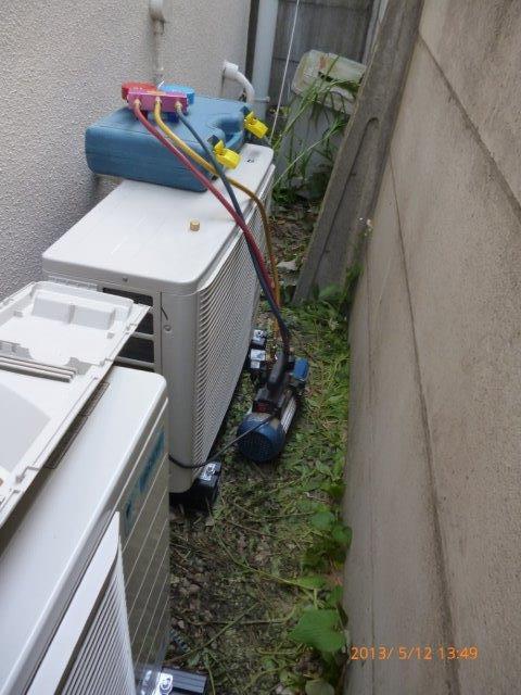 隠蔽配管仕様 天井/壁埋込マルチエアコンの入替 5_e0207151_1839738.jpg