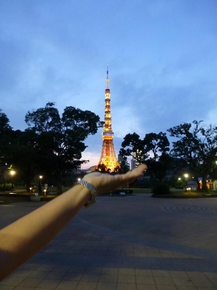 初めての・・・東京タワー?_c0100865_6174916.jpg