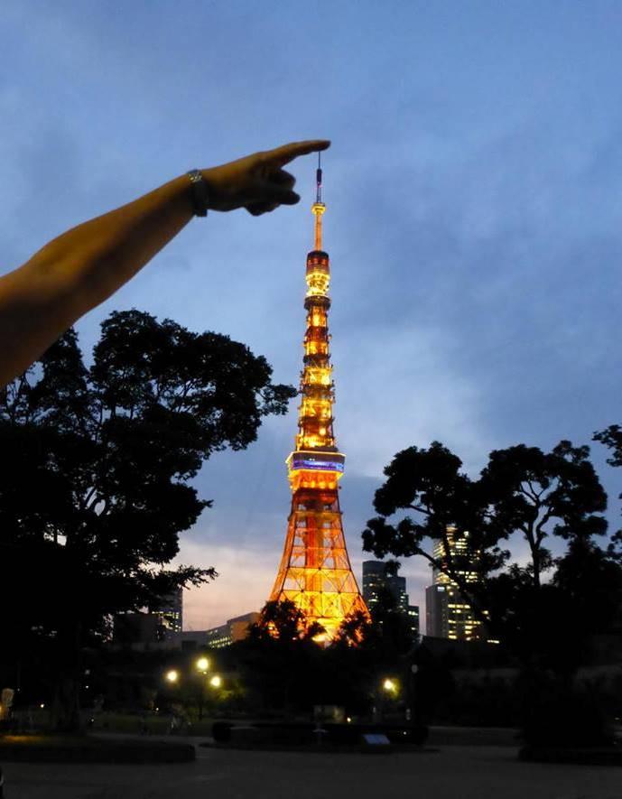 初めての・・・東京タワー?_c0100865_6183084.jpg