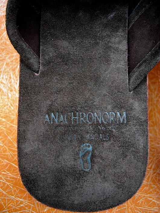 ANACHRONORM - Easy Sandals!!_f0020773_2265855.jpg
