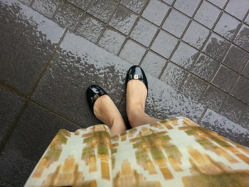 雨の日のおしゃれ~レインブーツ~_a0221584_1635389.jpg