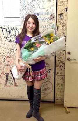 "Minami Kuribayashi Live Tour 2013 ""TIGHT KNOT""福岡公演 _f0143188_2120488.jpg"