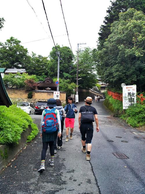 京都洛北修学院 裏路地ゆるトレッキング イベント報告_e0313913_18112967.jpg