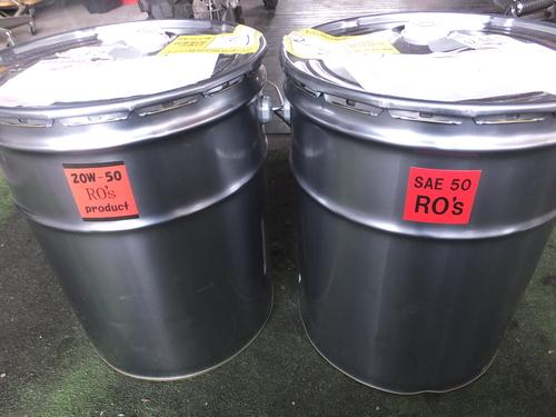 ハーレー専用 RO\'sオイル SAE50 20W50 絶賛販売中_a0257316_18365225.jpg
