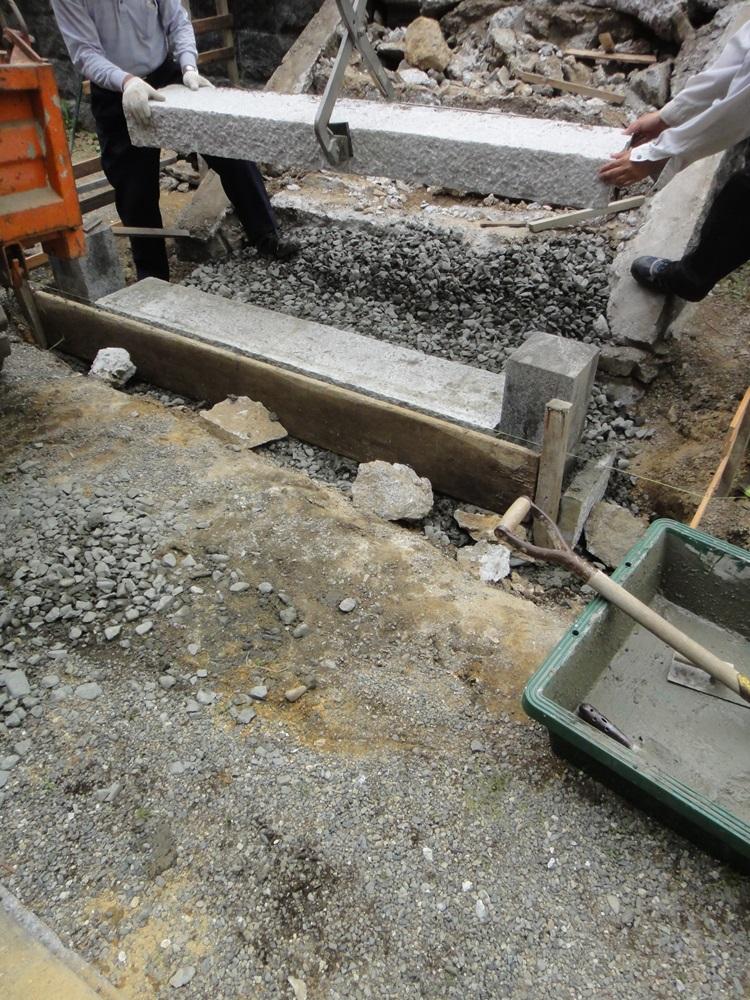 石段改修作業_c0111229_19155716.jpg