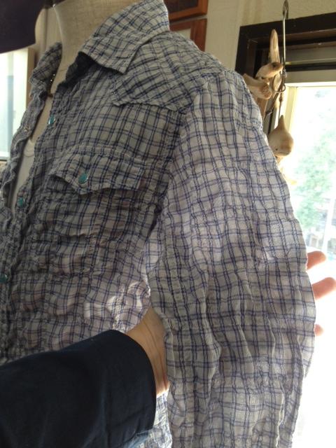 フルーツで染めた涼しいウエスタンシャツ!_d0108933_16415151.jpg