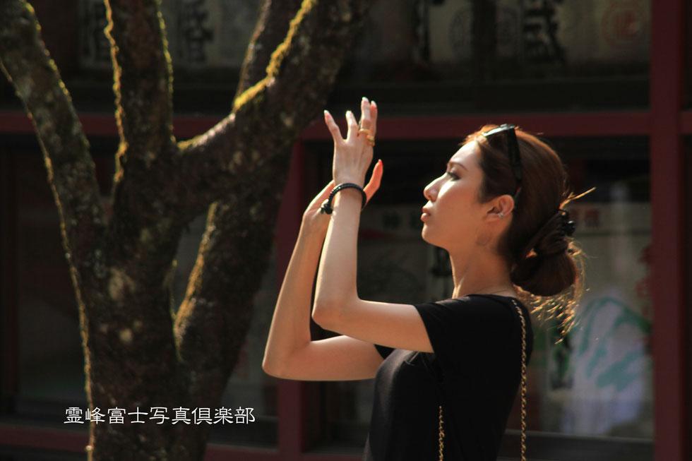 霊峰富士写真倶楽部「影法師」 撮影 by hujireihou 綺麗なハイアングル