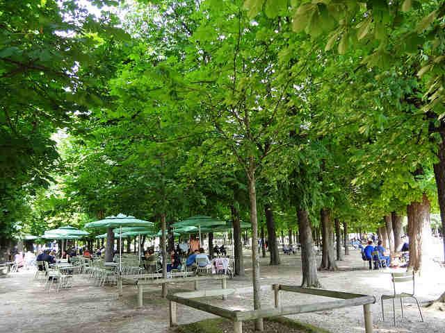 Jardin du luxembourg avec le soleil paris gourmand - Le jardin gourmand luxembourg ...