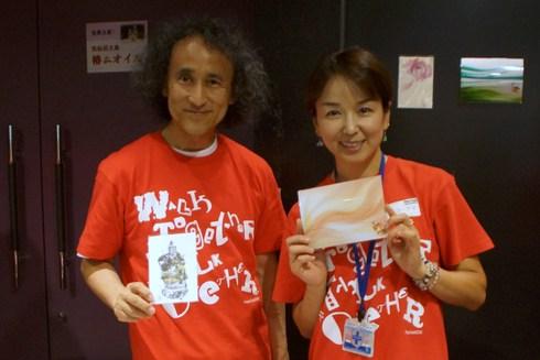 東日本大震災被災地とガーナ支援「PEACE QUEST」@クエストホールご来場御礼!/25日~4人展@レクトヴァーソ_f0006713_23542356.jpg