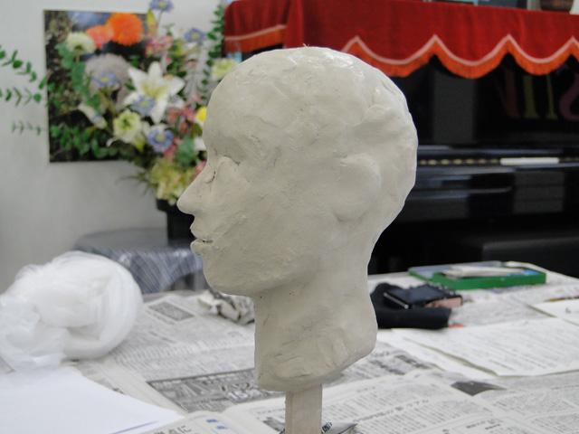 彫塑のワークショップ_b0200721_1072721.jpg