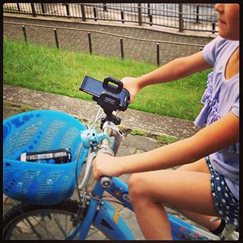 自転車にスマホ取り付けてサイクリング_c0060143_20573946.jpg