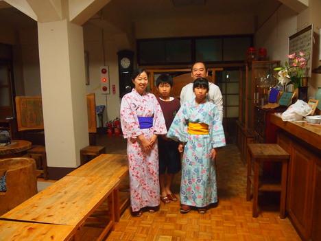 おしゃれ浴衣と西岳からの槍_f0219043_7463798.jpg