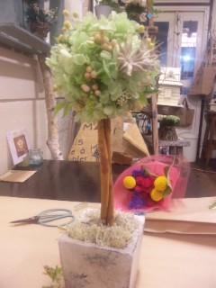 "Berry Bouquet \""アレンジメント教室_c0134086_23391810.jpg"
