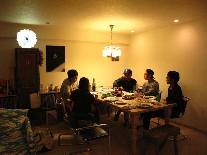 SUNSEAレストラン目黒系白T3兄弟_f0170995_18474514.jpg
