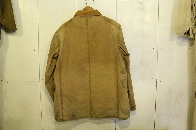 HUNTING JACKET with HOOKLESS ZIPPER_d0121303_1744264.jpg