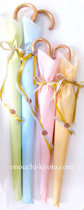 新郎新婦からご両家ご両親に感謝がつまった傘を・・・_f0184004_18263192.jpg
