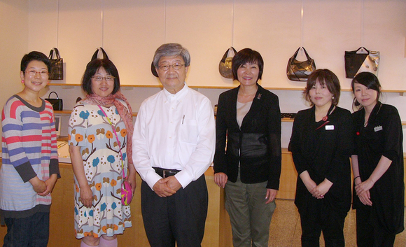 週末、 安倍昭恵 首相夫人 坂本これくしょんにお越し頂きました。_c0145608_9572588.jpg